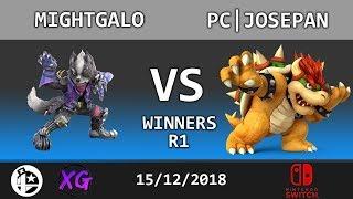Curtain Call Top 16 WR1: Mightgalo (Wolf) vs PC|Josepan (Bowser)