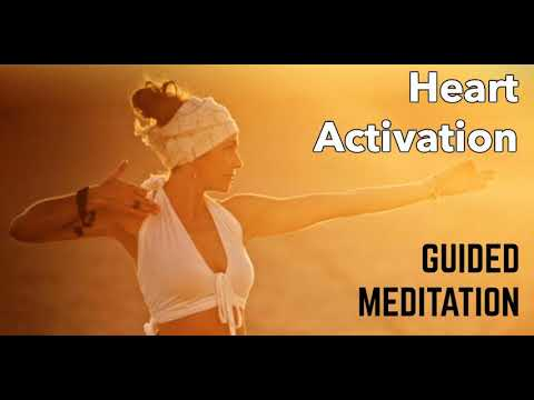 HEART CHAKRA MEDITATION - Heart Activation For Opening Your Heart,  Kundalini Awakening & Twin Flames