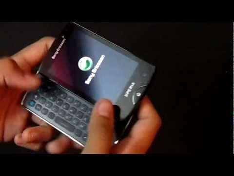 Sony Ericsson Xperia Mini Pro SK17i Unboxing and Quick Review