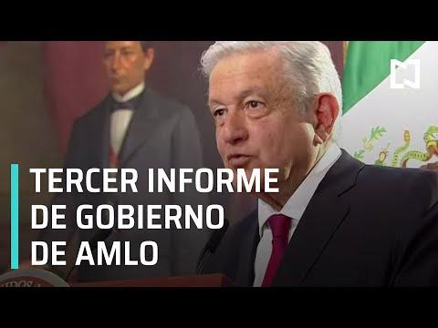 En vivo: Informe de Gobierno 2021 del presidente Andrés Manuel López Obrador