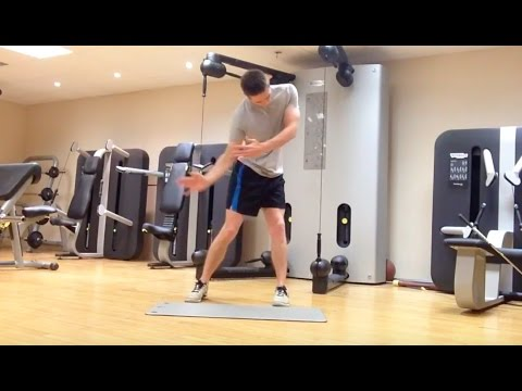 Golf Fitness – Bigger Backswing (QL Flexibility & Strength)