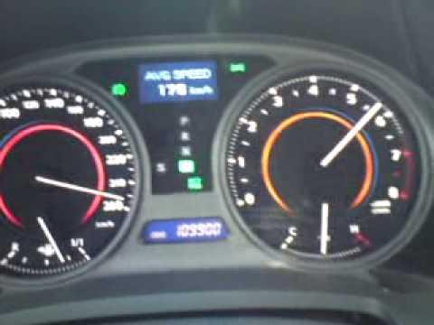 Lexus is 250 topspeed