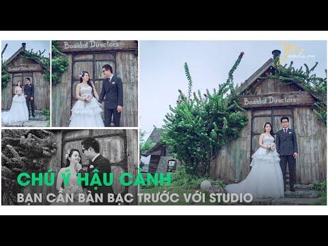 Chia sẻ kinh nghiệm chụp ảnh cưới trong phim trường