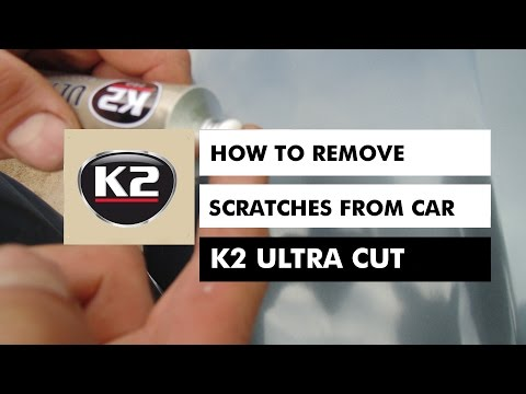HOW TO REMOVE SCRATCHES FROM CAR  – K2 ULTRA CUT