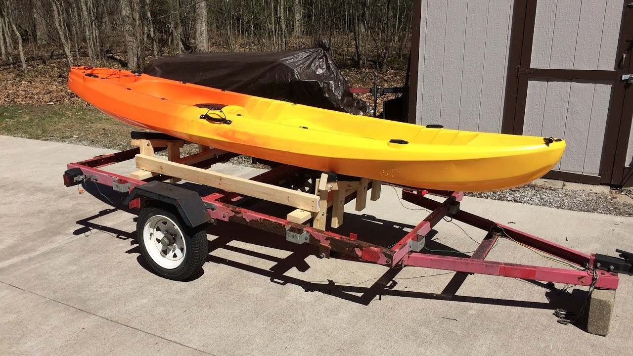 Making a kayak trailer