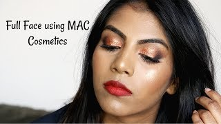 Full Face using MAC Cosmetics - NC44 ♡ MAC makeup for Brown / Indian Skin Tones | Shuanabeauty