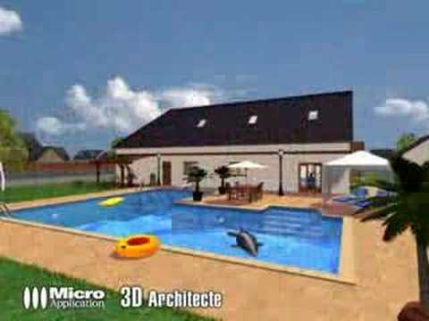 Visuels 3d architecte youtube for 3d architecte micro application
