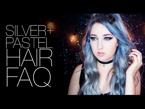 Silver/Pastel Hair FAQ