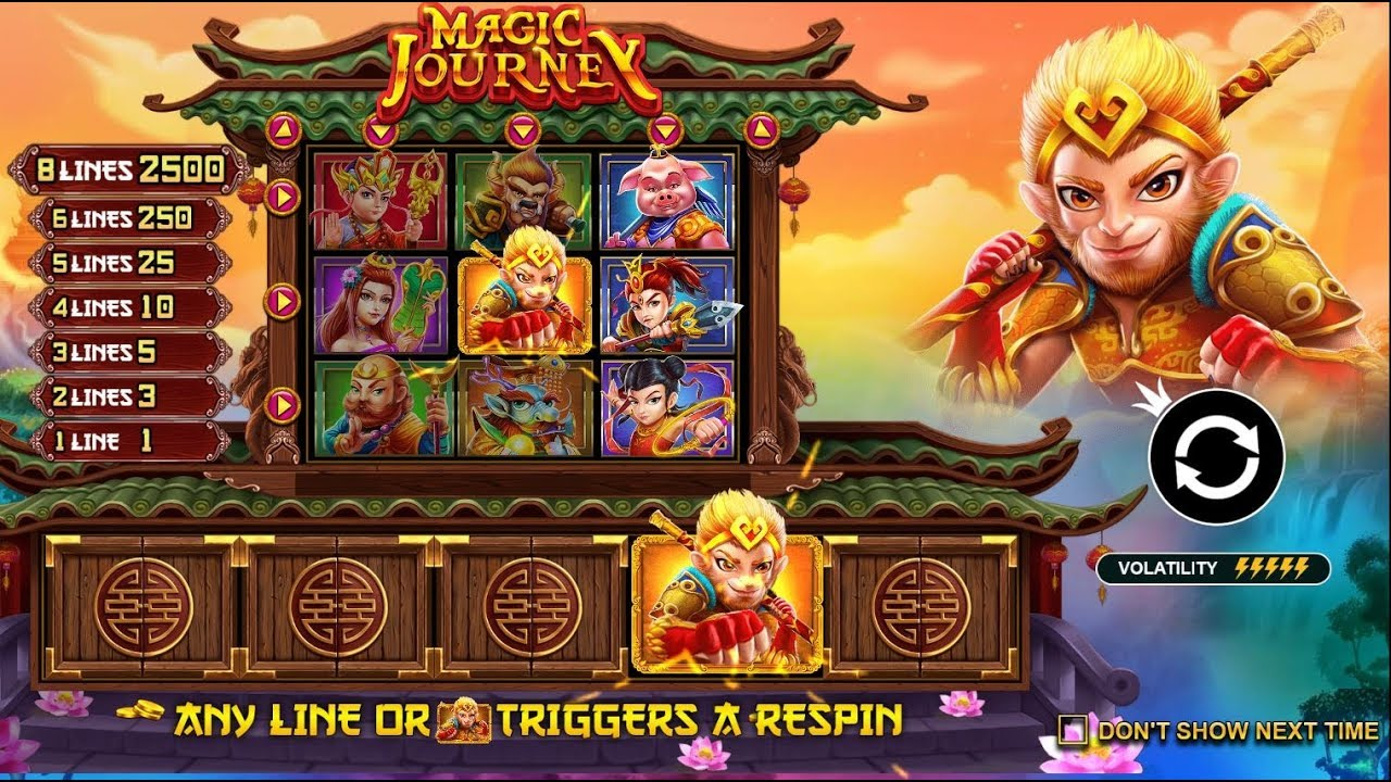 MAGIC JOURNEY (PRAGMATIC PLAY) ONLINE SLOT - YouTube