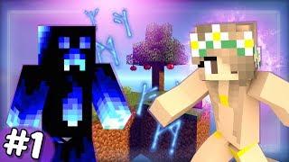NOVÁ SÉRIE! - ČAROVNÉ NEBE v Minecraftu! #1 /w DENČAHD
