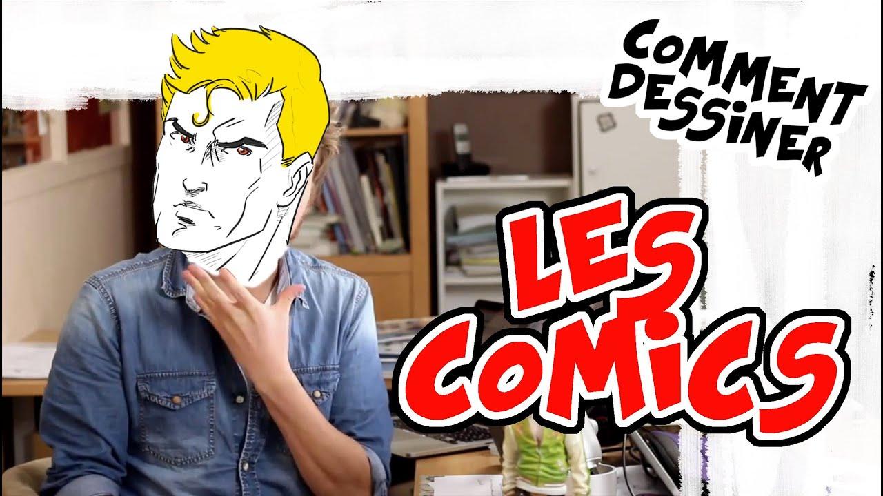 Dessiner un personnage de style comics youtube - Comics dessin ...