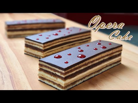 [-eng-sub-]-초콜릿-커피-케이크-만들기/-오페라-케이크/-how-to-make-chocolate-coffee-cake-/-opera-cake-recipe