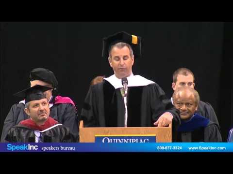 Keynote Speaker: Guy Adami • Presented by SpeakInc • Quinnipiac University Graduate Commencement