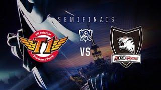 Mundial 2016 - Semifinal - SKT T1 vs ROX (MD5)