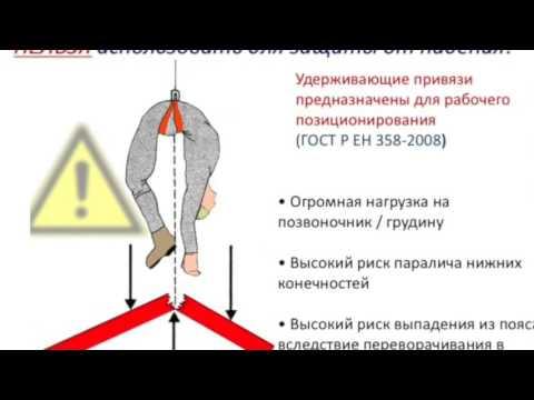 Новые правила охраны труда при работе на высоте