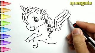 Halaman Mewarnai Unicorn Lucuku App Download 2021 Gratis Apktom