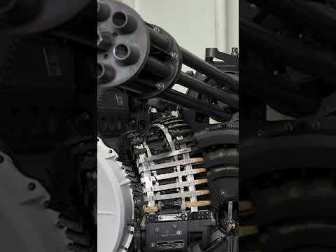 Download M61 Vulcan Gatling Gun In Action
