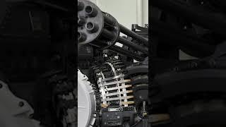 M61 Vulcan Gatling Gun In Action