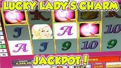 Lucky Lady's Charm 6 - 4€ JACKPOT - Freispiele Novoline Online Casino HD