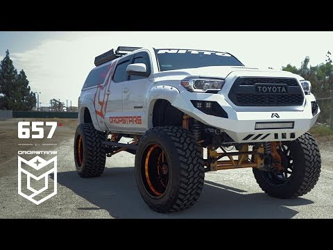 2019 Toyota Tacoma on Dropstars 657 Wheels (Part 2)