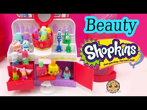 Shopkins COLLECTION TOUR All Health & Beauty Season 1 Part 7 Toy Video Cookieswirlc