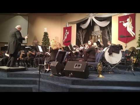 South Greene High School band Christmas concert 2016