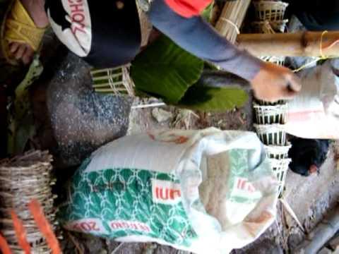Salt Packing in Sakon nakhon province ,Thailand