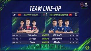 Vietnam Warriors vs Shadow Cream - Vòng Bảng Ngày 3 [EACC Spring 2019]