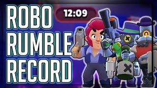 Robo Rumble WORLD RECORD! Best Time in Pachinko Park! Brawl Stars