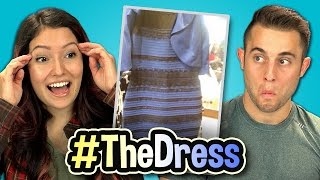 WHAT COLOR IS THIS DRESS? (Teens React Special)
