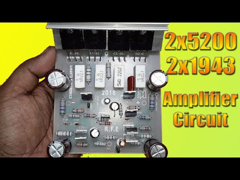 4-transistor-amplifier-circuit-connection