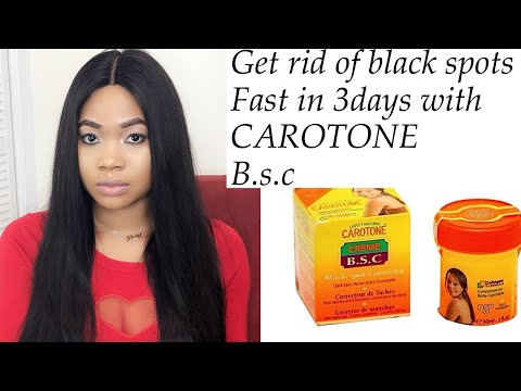Get rid of dark spots in 3 days CAROTONE dark spots corrector.....