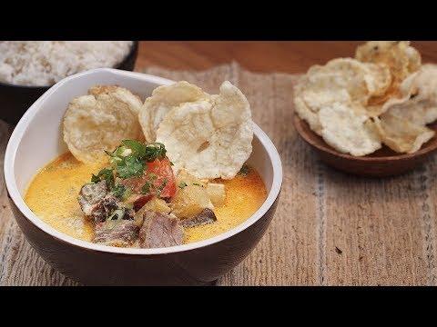 Resep Masakan Soto Betawi khas Jakarta - Resep Masakan Nusantara - YouTube