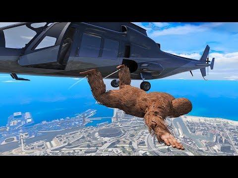 GTA 5 Epic Ragdolls Jumps and Falls #2 (Funny Moments) - 동영상