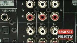 Pioneer VSX-820-K 5.1 Home Theater A/V Receiver Black