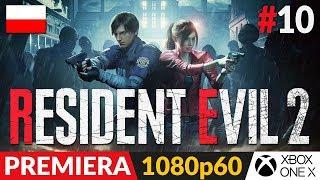 Resident Evil 2 PL - Remake 2019  #10 (odc.10)  Odcinek pełen sekretów (50% poboczne - opis)
