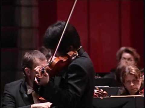 Dan Zhu plays Beethoven Violin Concerto 1st mvt