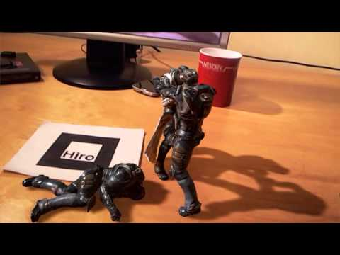 Unreal Engine 4 - Augmented Reality FIGHT SCENE