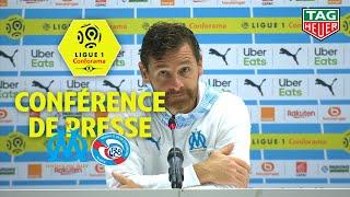 Conférence de presse Olympique de Marseille - RC Strasbourg Alsace ( 2-0 ) / 2019-20