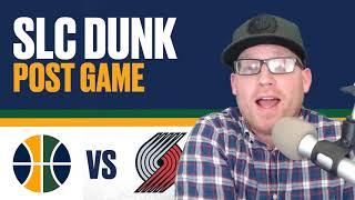 Utah Jazz vs Portland Trail Blazers: Post Game Reaction - Jazz win streak ends!