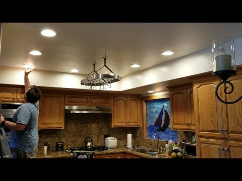 The Easiest Way To Replace Upgrade Your Old Can Lights For New Led Can Lights Recessed Lights Youtube