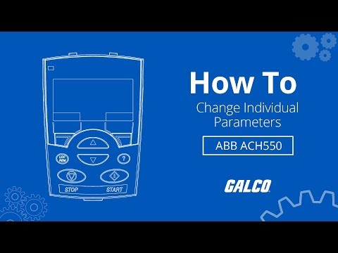 how-to-change-individual-paramaters-on-abb's-ach550-hvac-ac-drive