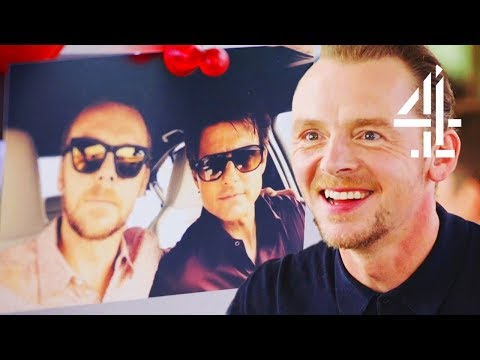 Simon Pegg Thinks Tom Cruise Likes Torturing Him With Cake  Jamie And Jimmy's Friday Night Feast
