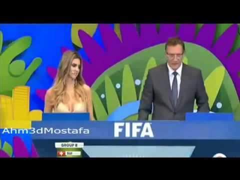 قرعة مونديال 2014   FIFA World Cup Brazil 2014 Final Draw 360p