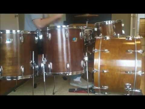 ludwig drum set for sale. Black Bedroom Furniture Sets. Home Design Ideas