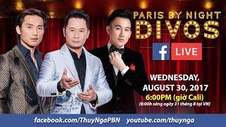 """Livestream với Đan Nguyên, Bằng Kiều, Dương Triệu Vũ để giới thiệu PBN Live Show """"Divos"""""""