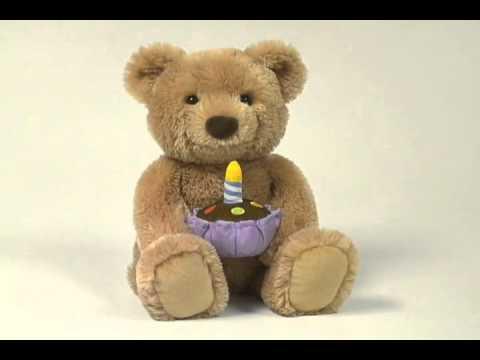 Gund Birthday Bear