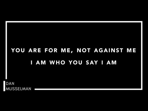 WHO YOU SAY I AM | Piano Instrumental with Lyrics | Hillsong Worship