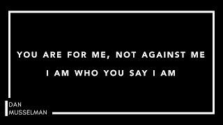 WHO YOU SAY I AM | Piano Instrumental with Lyrics | Hillsong Worship