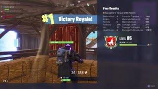 Fortnite squad win __-Bustergrove PlayStation mini gun